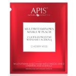 Apis CHERRY KISS MULTIVITAMIN SHEET MASK WITH FREEZE-DRIED CHERRIES AND ACEROLA Multiwitaminowa maska w płacie z liofilizowanymi wiśniami i acerolą - Apis CHERRY KISS MULTIVITAMIN SHEET MASK WITH FREEZE-DRIED CHERRIES AND ACEROLA - charry-kiss.jpg