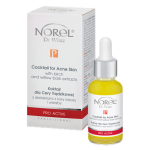 Norel (Dr Wilsz) COCKTAIL FOR ACNE SKIN WITH BIRCH AND WILLOW BARK EXTRACTS Koktajl dla cery trądzikowej z ekstraktami z kory brzozy i wierzby (PA173) - Norel (Dr Wilsz) COCTAIL FOR ACNE SKIN WITH BIRCH AND WILLOW BARK EXTRACTS - pa173_koktajl_acne_kpl_l.png