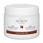 Norel (Dr Wilsz) CHOCOLATE SPA BODY MASSAGE CREAM MILK CHOCOLATE Krem do masażu ciała Mleczna Czekolada (PB187) - Norel (Dr Wilsz) CHOCOLATE SPA BODY MASSAGE CREAM MILK CHOCOLATE - pb187_mleczna_czekolada_krem_l.png