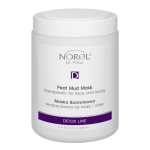 Norel (Dr Wilsz) PEAT MUD MASK THERAPEUTIC FOR FACE AND BODY Maska borowinowa terapeutyczna na twarz i ciało  (PN133) - Norel (Dr Wilsz) PEAT MUD MASK THERAPEUTIC FOR FACE AND BODY - pn133_borowina_terapeutyczna_l.png