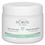 Norel (Dr Wilsz) ACNE PEAT MUD MASK FOR FACE AND BACK Maska borowinowa na twarz i plecy (PN145) - Norel (Dr Wilsz) ACNE PEAT MUD MASK FOR FACE AND BACK - pn145_acne_borowina_l.png